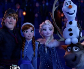 OLAF'S FROZEN ADVENTURE Soundtrack Out Today