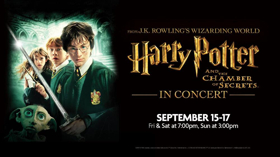HARRY POTTER AND THE CHAMBER OF SECRETS-IN CONCERT Cancelled Tonight at SLSO