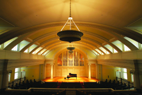 Historic Nichols Concert Hall Undergoing Renovation