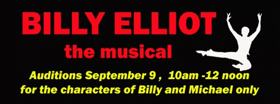 ShenanArts to Hold Auditions for BILLY ELLIOT Next Month