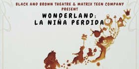 Matrix Teens and Black and Brown Theatre Partner for Bilingual ALICE IN WONDERLAND