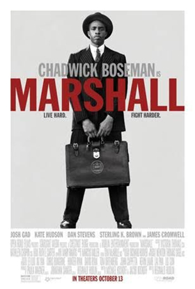 See the Official Poster for MARSHALL Starring Chadwick Boseman