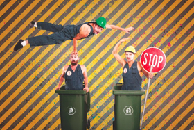 Award-Winning Trash Test Dummies Return to Melbourne