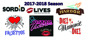 SORDID LIVES, FALSETTOS, VICTOR/VICTORIA and More Set for Pandora Productions' 2017-18 Season; Cast Announced!