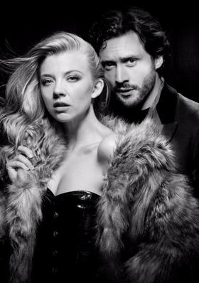 Natalie Dormer and David Oakes in Star VENUS IN FUR at Theatre Royal Haymarket