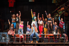 Tune Up! RENT 20th Anniversary Tour Sets 2017-18 Cast