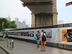 United Photo Industries Brings THE FENCE Back to Brooklyn Bridge Park