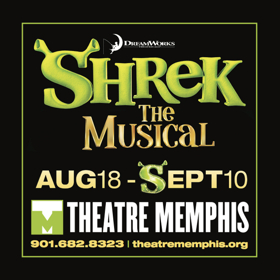 Theatre Memphis to Open 98th Season with SHREK THE MUSICAL