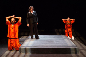 BWW Review: JESUS HOPPED THE 'A' TRAIN is Worth Catching at 1st Stage