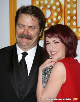 Megan Mullally, Nick Offerman to Pen Memoir of Their 'Epic Romance'