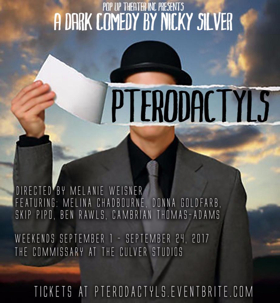 Pop Up Theater to Present PTERODACTYLS