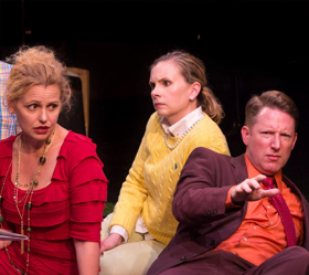 BWW Review:  SHE RODE HORSES LIKE THE STOCK EXCHANGE at Taffety Punk