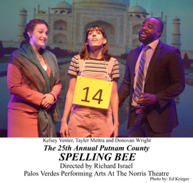 Review: Laughs Abound at THE 25th ANNUAL PUTNAM COUNTY SPELLING BEE at the Norris Theatre