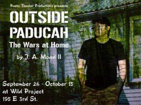 Military Veteran Artists to Present Readings Before OUTSIDE PADUCAH: THE WARS AT HOME at the wild project