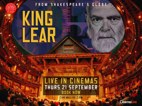 CinemaLive and Shakespeare's Globe Announce First Live Cinema Broadcast