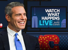 Scoop: WATCH WHAT HAPPENS LIVE on Bravo- 10/1-10/5