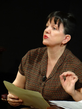 EDINBURGH 2017: BWW Q&A- The Portable Dorothy Parker