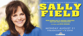 Sally Field Adds Second Show at the Crown & Anchor This August