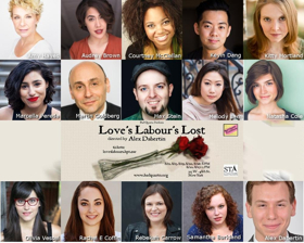 Bad Quarto Productions Announces Cast of LOVE'S LABOUR'S LOST