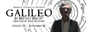 Brecht's GALILEO Opens Burbage's 7th Season