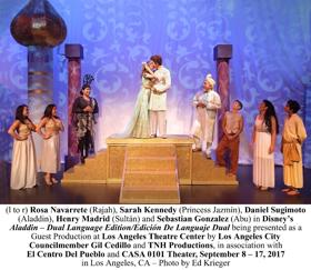 Review: It's a Whole New World in Disney's ALADDIN, Dual Language Edition at LA Theatre Center