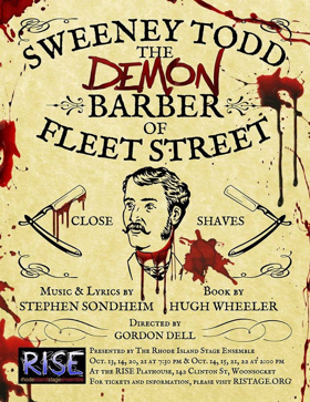 The RISE Playhouse Presents SWEENEY TODD: THE DEMON BARBER OF FLEET STREET