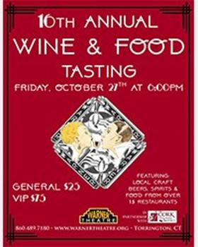 Warner Theatre Announces 16th Annual Wine & Food Tasting