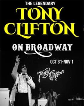 Celebrate Halloween with Tony Clifton at the Iridium
