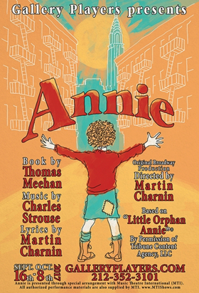 Gallery Players to Open 51st Season with ANNIE in Brooklyn