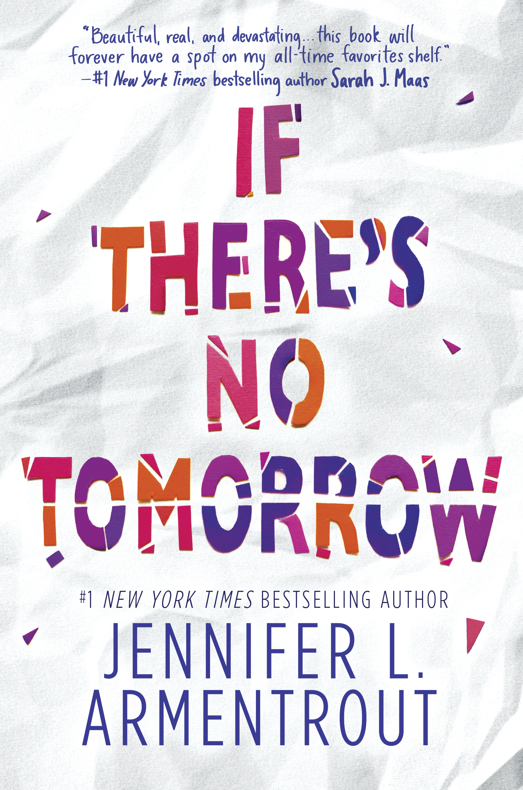 BWW Feature: Go behind the scenes and watch the making of the cover for IF THERE'S NO TOMORROW by Jennifer L. Armentrout!