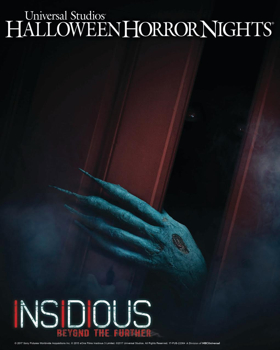 """Universal Studios Hollywood Unleashes All-New Terrifying """"Halloween Horror Nights"""" Maze and Living Trailer for INSIDIOUS: CHAPTER 4"""