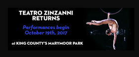 Teatro ZinZanni Seattle Announces Cast, On-Sale for Return to Marymoor Park