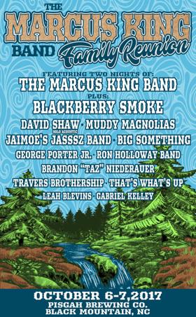 The Marcus King Band Announces Inaugural Music Festival Lineup in Black Mountain, NC