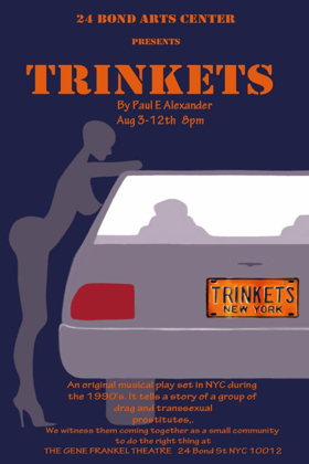 Paul Alexander's TRINKETS Comes to 21 Bond Arts Center