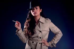 COME LIGHT MY CIGARETTE Starring Erikka Walsh Preps for Previews