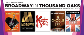 Tickets on Sale Next Week for Broadway In Thousand Oaks' 2017-18 Season, Featuring KINKY BOOTS and More