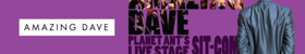AMAZING DAVE Launches Planet Ant Theatre's 2017-18 Season This Week