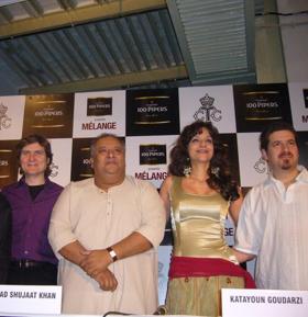 Katayoun Goudarzi And Saffron Ensemble Stunningly Hypnotic 'Will You?'