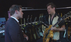 Harry Styles Talks Music, One Direction & More on CBS SUNDAY MORNING, 10/15