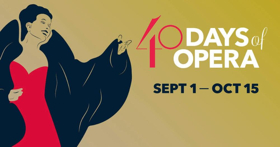 Utah Opera to Celebrate 40 Years with 40 DAYS OF OPERA Festival