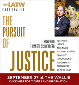 LATW to Honor E. Randol Schoenberg at 'PURSUIT OF JUSTICE' This Fall