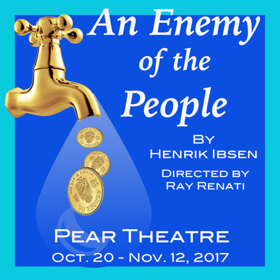 Pear Theatre's AN ENEMY OF THE PEOPLE Changes Directors