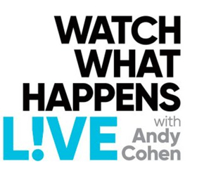 Scoop: WATCH WHAT HAPPENS LIVE WITH ANDY COHEN on BRAVO - 9/17-9/21