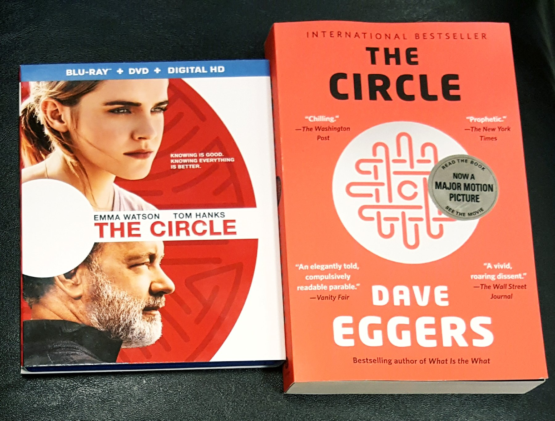 BWW Review: THE CIRCLE By Dave Eggers: Which Is Better, The Book Or The Movie?