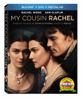 MY COUSIN RACHEL Arrives on Blu-ray, DVD & Digital HD on Today