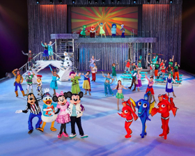 Disney on Ice! FOLLOW YOUR HEART Arrives in Kent and Everett this November