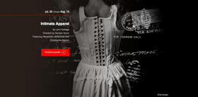 Cast Announced for Lynn Nottage's INTIMATE APPAREL at Shakespeare & Company
