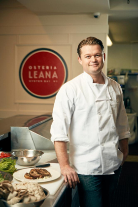 Chef Spotlight:  Peter Van Der Mije of OSTERIA LEANA in Oyster Bay