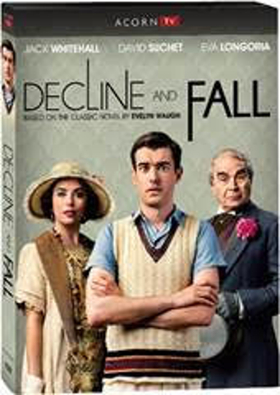 TV Adaptation of Classic Novel DECLINE AND FALL Comes to DVD This September