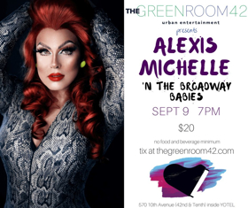 Alexis Michelle Hosts Tony Winner Daisy Eagan and More at Green Room 42 Tomorrow